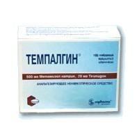 Темпалгин таблетки, 100 шт.