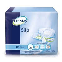 Tena Slip Plus подгузники для взрослых разм. L (100-150 см) 30 шт.