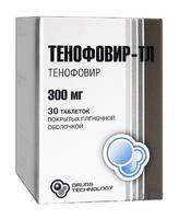 Тенофовир-ТЛ таблетки 300 мг, 30 шт.
