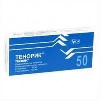 Тенорик таблетки 50/12.5 мг, 28 шт.