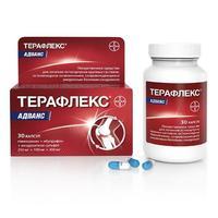 Терафлекс Адванс 250 мг+100 мг+200 мг капсулы 30 шт.