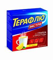 ТераФлю Экстра лимон пакетики 10 шт