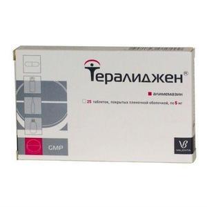 Тералиджен таблетки 5 мг, 25 шт.
