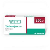 Тербинафин-Тева таблетки 250 мг 14 шт.