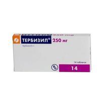 Тербизил таблетки 250 мг, 14 шт.