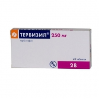 Тербизил таблетки 250 мг, 28 шт.