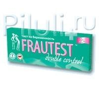 Тест на беременность Frautest Double control тест, 2 шт.