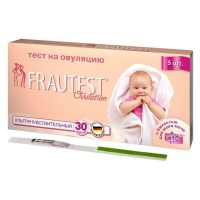 Тест на овуляцию Frautest тест-полоски, 5 шт.