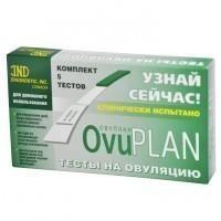 Тест на овуляцию Ovuplan тест-полоски, 5 шт.