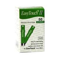 Тест-полоски EasyTouch глюкоза 50 шт.