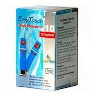 Тест-полоски EasyTouch холестерин 10 шт.
