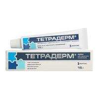Тетрадерм крем для наружного применения 15 г