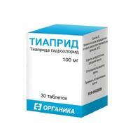 Тиаприд таблетки 100 мг, 30 шт.
