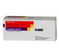 Тидомет форте таблетки, 100 шт.