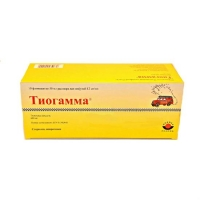 Тиогамма р-р для инфузий 12 мг/мл флакон 50 мл 10 шт.