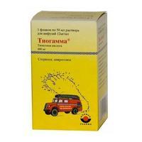 Тиогамма р-р для инфузий 12 мг/мл флакон 50 мл