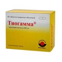 Тиогамма таблетки покрыт.плен.об. 600 мг 60 шт.
