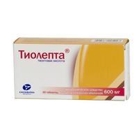 Тиолепта таблетки 600 мг, 60 шт.