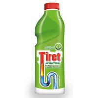 Tiret Antibacterial гель для удаления и профилактики засоров 1 л