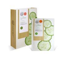 Тканевая маска Cucumber whitening glowing увлажняющая с огурцом 38г 10шт.