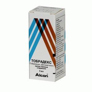 Тобрадекс гл. капли фл. 5мл
