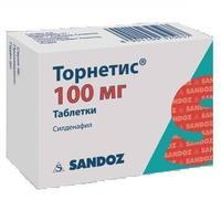 Торнетис таблетки 100 мг, 1 шт.