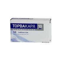 Торвакард таблетки 10 мг, 30 шт.