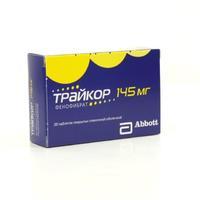 Трайкор таблетки 145 мг, 30 шт.