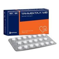 Тримектал МВ таблетки 35 мг, 60 шт.