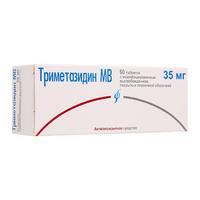 Триметазидин МВ таблетки покрыт.плен.об. пролонг. действия 35 мг 60 шт.