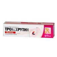 Троксерутин 2% гель д/наружного прим. 25г