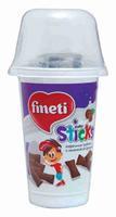 Трубочки вафельные Fineti с ореховой начинкой 45г упак.