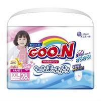 Трусики Гун/Goon для девочек Super Big 13-25 кг, 28 шт.