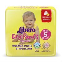 Трусики Либеро Dry Pants 10-14 кг, 18 шт.