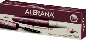 Алерана стимулятор роста ресниц и бровей 6мл 2шт / ALERANA (1 упаковка (2 шт. по 6 мл))