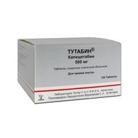 Тутабин таблетки 500 мг, 120 шт.