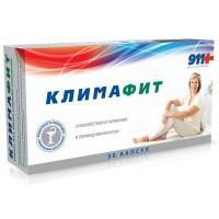 911 климафит комплекс витаминов д/женщин при перименопаузе и менопаузе капс. №30 (бад)