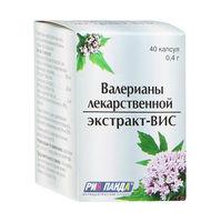 Валерианы лекарственной экстракт-ВИС капсулы 0,4 г 40 шт.