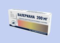 Валерианы таблетки 20 мг, 10 шт.