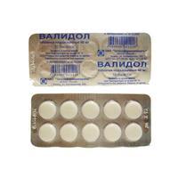 Валидол таблетки 60 мг, 10 шт.