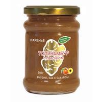 Варенье из клубней топинамбура с персиком без сахара 240 г
