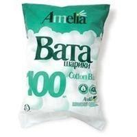 Ватные шарики Амелия 100 шт.