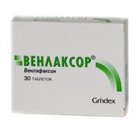 Венлаксор таблетки 75 мг, 30 шт.