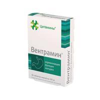 Вентрамин таблетки 10 мг, 40 шт.