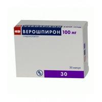 Верошпирон капсулы 100 мг, 30 шт.