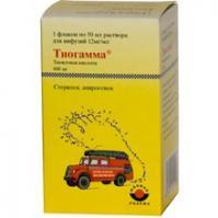 Тиогамма флаконы 1,2%, 50 мл, 10 шт.