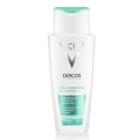 Vichy Dercos регулирующий шампунь-уход для жирных волос 200 мл