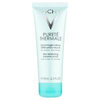 Vichy Purete Thermale крем-скраб обновляющий кожу лица 75 мл