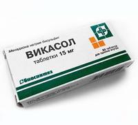 Викасол таблетки 15 мг, 30 шт.
