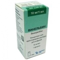 Винельбин конц. для р-радля инфузий 10 мг/мл флакон 1 мл
